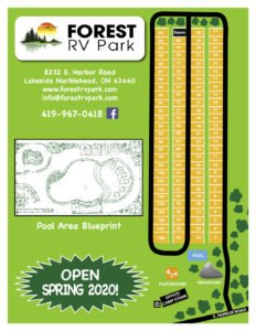 Forest RV Park Site Map